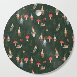 Woodland Gnomes Cutting Board