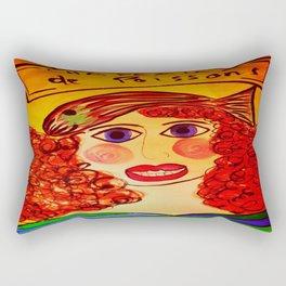 """""""Chapeaux de Poissons"""" Rectangular Pillow"""