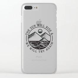 truce Clear iPhone Case