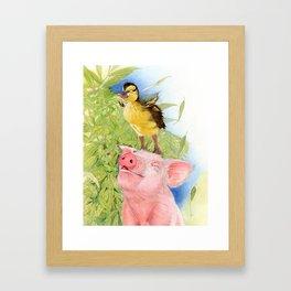 Yes, I Can Fly... Framed Art Print