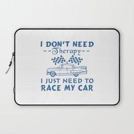 Race my car Laptop Sleeve