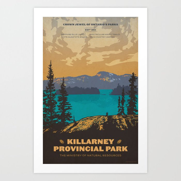 Killarney Park Poster Kunstdrucke