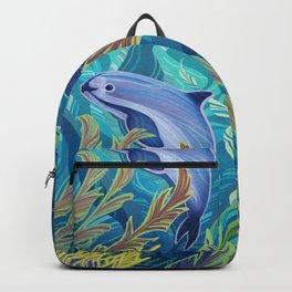 Endangered Vaquita Marina. Backpack