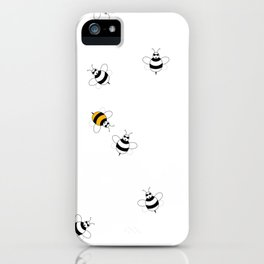 Bees Playing  iPhone Case