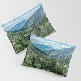 Colorado Wilderness // Why live anywhere else? Amazing Peaceful Scenery with Evergreen Dusted Hills Pillow Sham