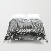 "captain silva Duvet Covers featuring ""pristina silva"" by cistus skamberji"