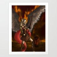 Archangel Art Print
