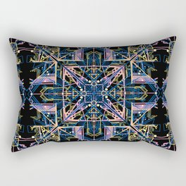 Forget Me Knot from the Tech Nectar Series Rectangular Pillow