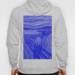 The Scream - Edvard Munch - Japanese Porcelain Concept Hoody