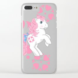 g1 my little pony Sundance Clear iPhone Case