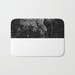 omaha map nebraska Bath Mat