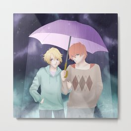 Umbrella - Yooran Metal Print