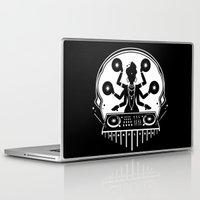 shiva Laptop & iPad Skins featuring Disco Shiva by starplexus