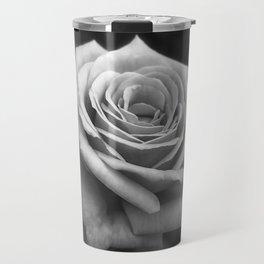 Pink Roses in Anzures 4 B&W Travel Mug