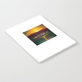 Angel Island Sunset (Square) Notebook
