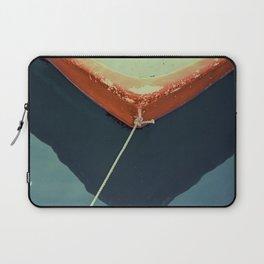 yellow boat Laptop Sleeve