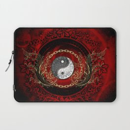 The sign ying and yang Laptop Sleeve