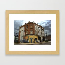 Abandoned Cityscape Pittsburgh Framed Art Print