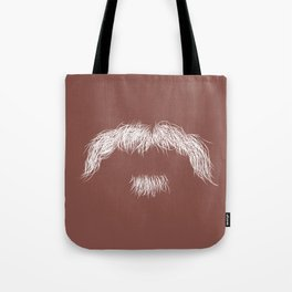 The Dirty 'stache Tote Bag