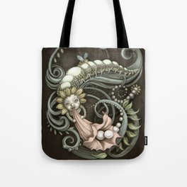 Pearly Dew Drops Tote Bag