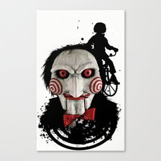 Billy The Puppet: Monster Madness Series Canvas Print
