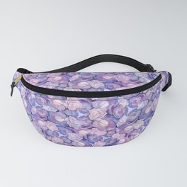 Botanical In Blue Fanny Pack