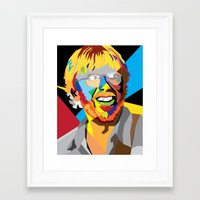 phish Framed Art Prints featuring Phish on a Trey by Skufire