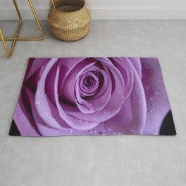 Purple Rose-3 Rug