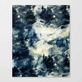 Drowning in Waves Texture Canvas Print