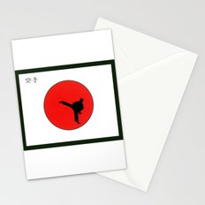 Art Of Karate Print Stationery Cards