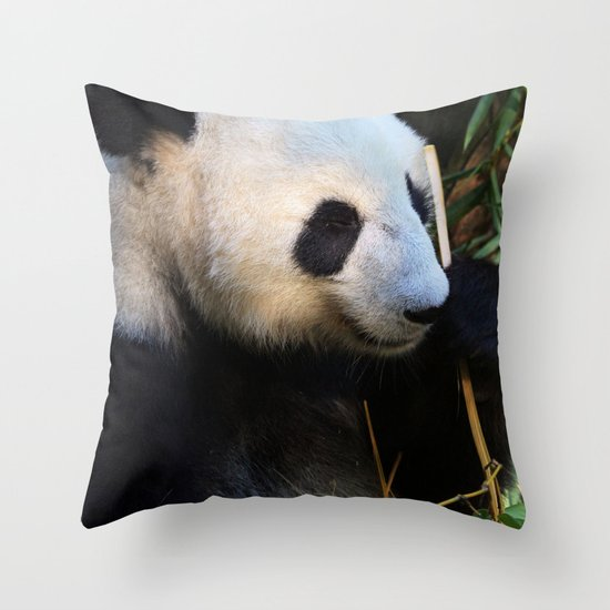 Panda Nap Throw Pillow