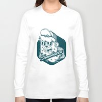 chewbacca Long Sleeve T-shirts featuring Hipster Chewbacca by Redwane