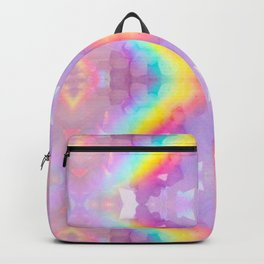 rAiNbOw Crystal * Star Quartz * Mandala Backpack