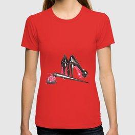High Heels and nail polish art T-shirt