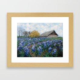 Coates' Barn Framed Art Print