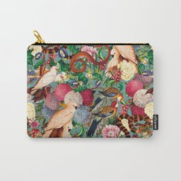 Floral and Animals pattern Carry-All Pouch