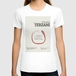 Tiziano Terzani, Bruno Ganz, Germano, The end is my beginning. La fine è il mio inizio, Movie Poster T-shirt