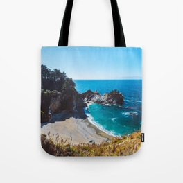 McWay Falls, Big Sur, California Tote Bag