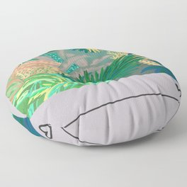 Jungle Garden Music album  Floor Pillow