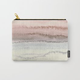 WITHIN THE TIDES - SNOW ON THE BEACH Carry-All Pouch