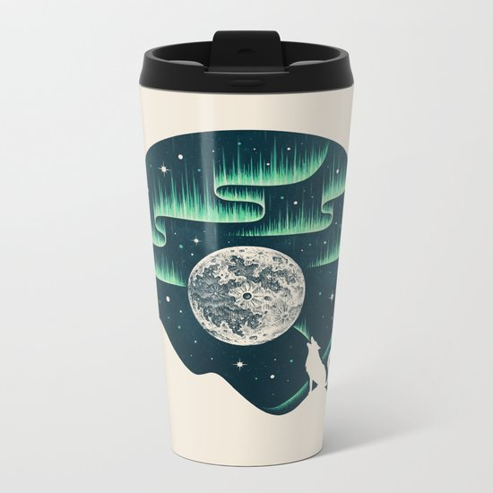 Arctic Tune Metal Travel Mug