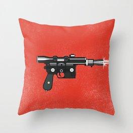 blaster Throw Pillow