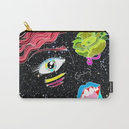 """""""Far Out Woman"""" Carry-All Pouch"""
