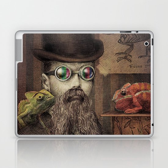 The Chameleon Collector Laptop & iPad Skin