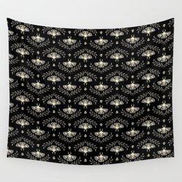 Spooky Moths Wall Tapestry