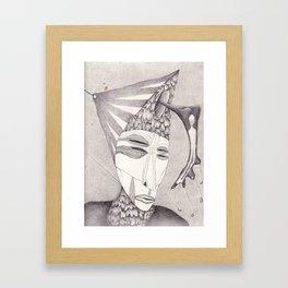 Meeting With Beksinski II Framed Art Print