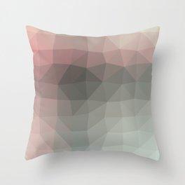 Geometric reds   Pattern modern   Future decor design Throw Pillow
