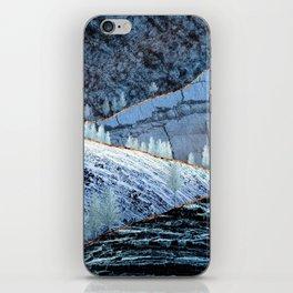 Sunrise in the blue hills iPhone Skin