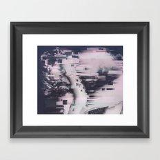 Beta Waves Framed Art Print