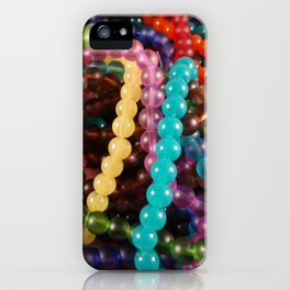 Multi Strands of Beads iPhone Case
